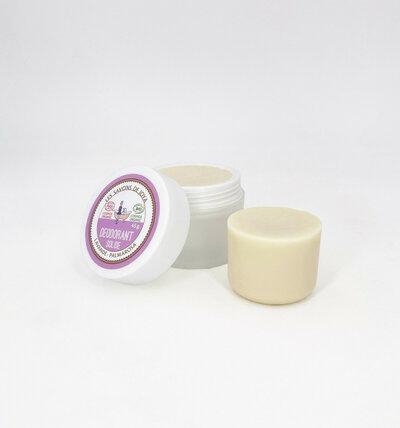 Déodorant solide à la lavande et au palmarosa