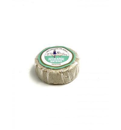 Recharge boîte de dentifrice solide à la menthe 40g