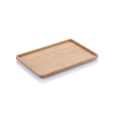 Plateau de service en bambou rectangle30.5 x20.5 x 2cm