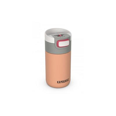 Mug isotherme Etna Cantaloupe 300 ml inox anti fuite