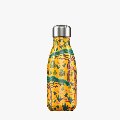 Bouteille girafe Tropical 260 ml inox, isotherme et sans BPA