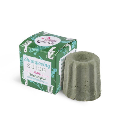 Shampoing solide parfum herbes folles pour cheveux gras