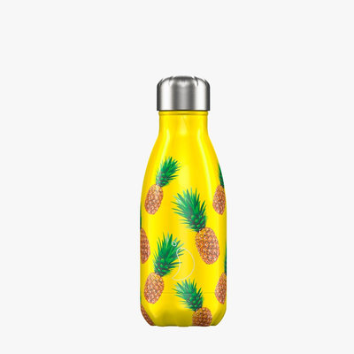 Bouteille Icons ananas 260 ml inox, isotherme