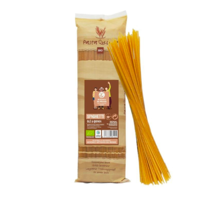 Spaghetti bio au blé et Quinoa500 g