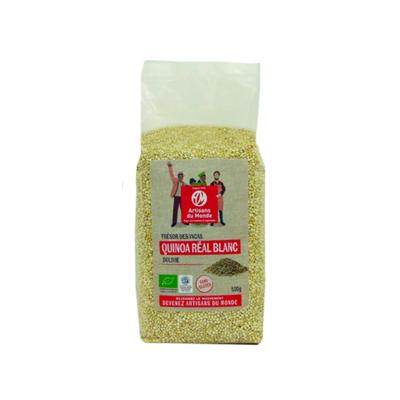 Quinoa réal blanc biologique 500 g