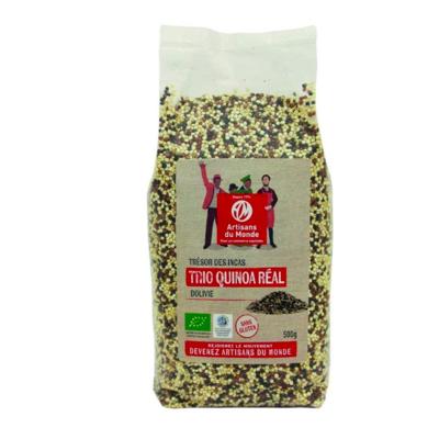 Quinoa trio équitable et biologique 500 g