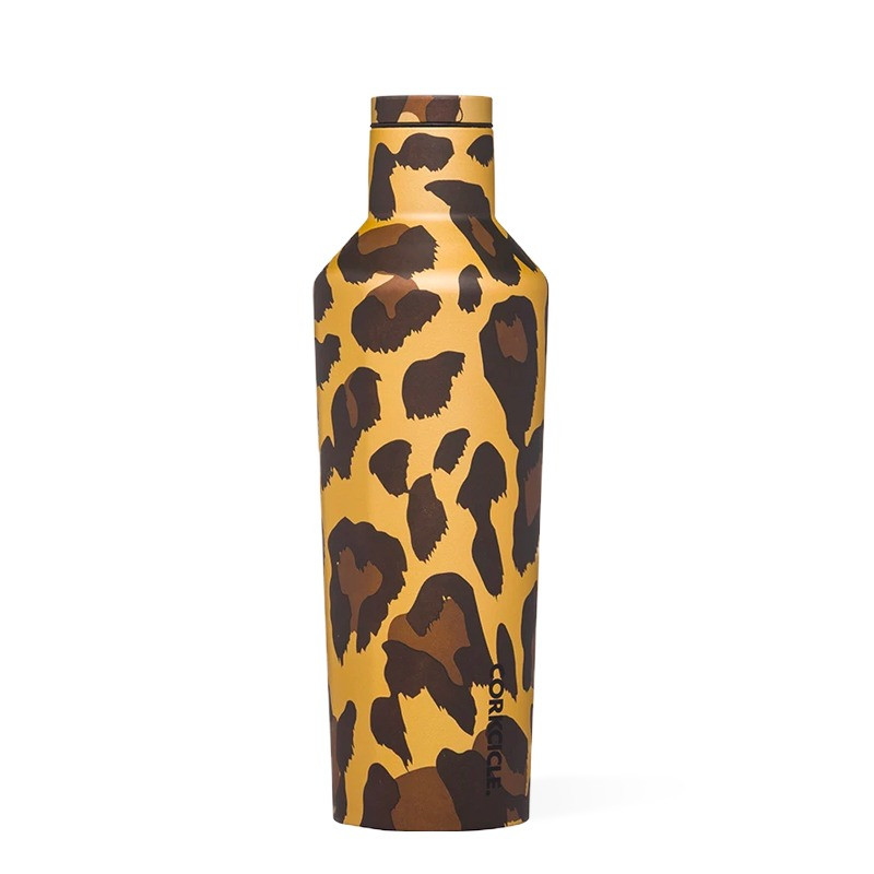 Bouteille LUXE LEOPARD 500 ml, inox, isotherme