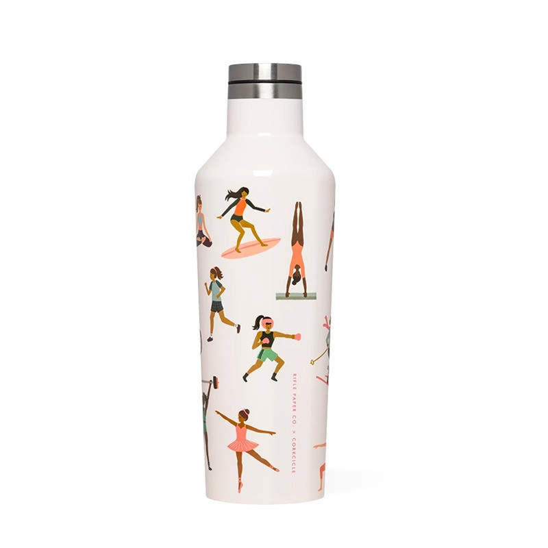 Bouteille SPORTS GIRL 500 ml, inox, isotherme RIFLE PAPER CO