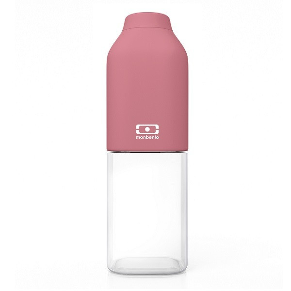 Bouteille nomade MB Positive M rose flamingo 500 ml