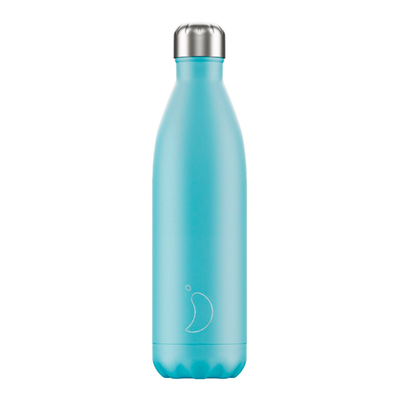 Bouteille pastel bleu 750 ml inox, isotherme