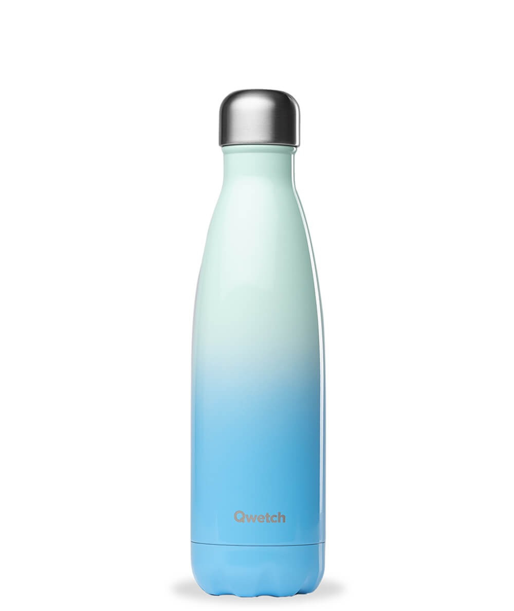 Bouteille sky bleu 500 ml inox, isotherme
