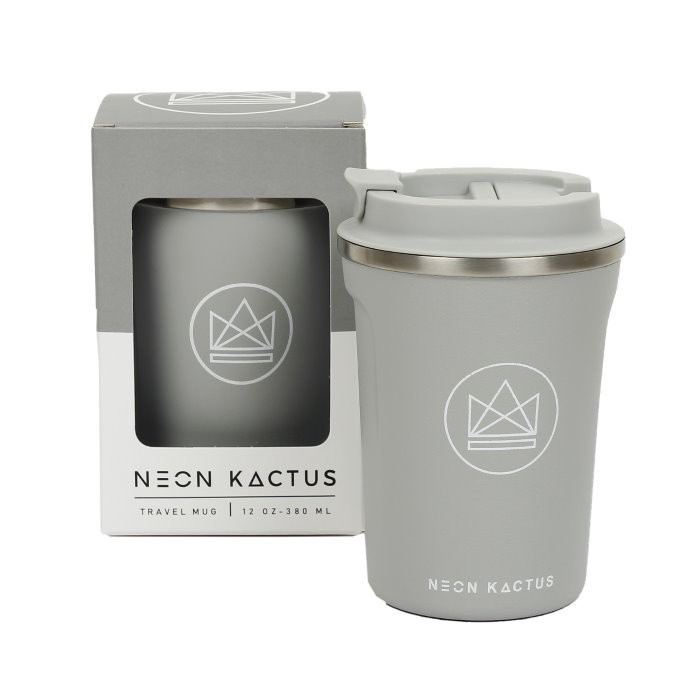 Mug de voyage Sea Shell - Gris 380 ml