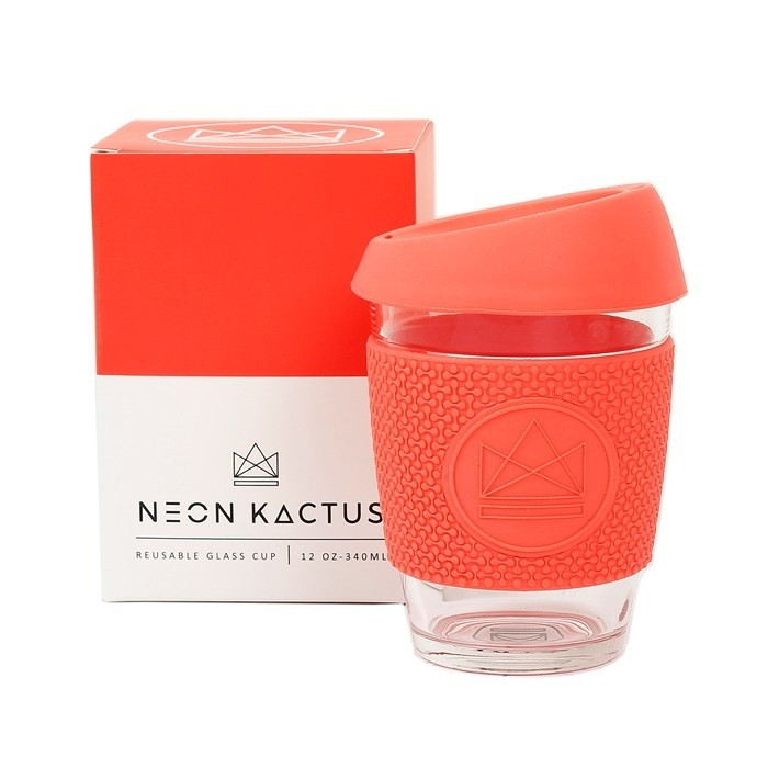 Tasse à café nomade Dream Believer rouge corail 340 ml