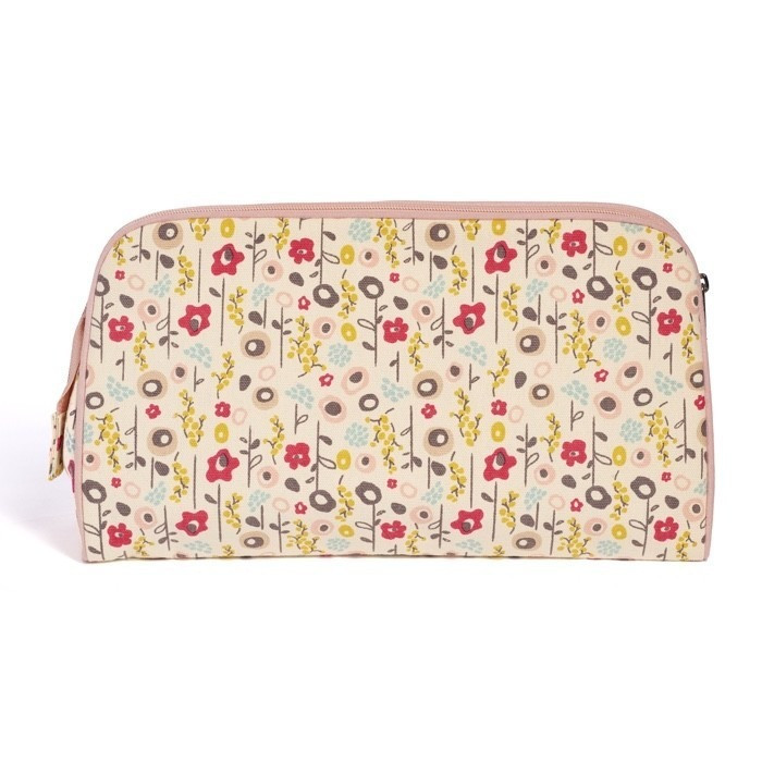 Trousse de toilette Bloom en coton bio