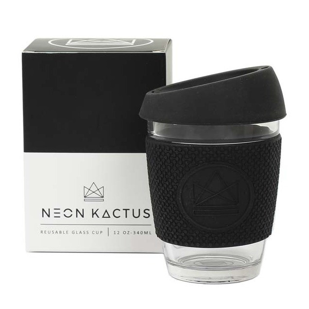 Tasse à café nomade noir Rock Star 340 ml