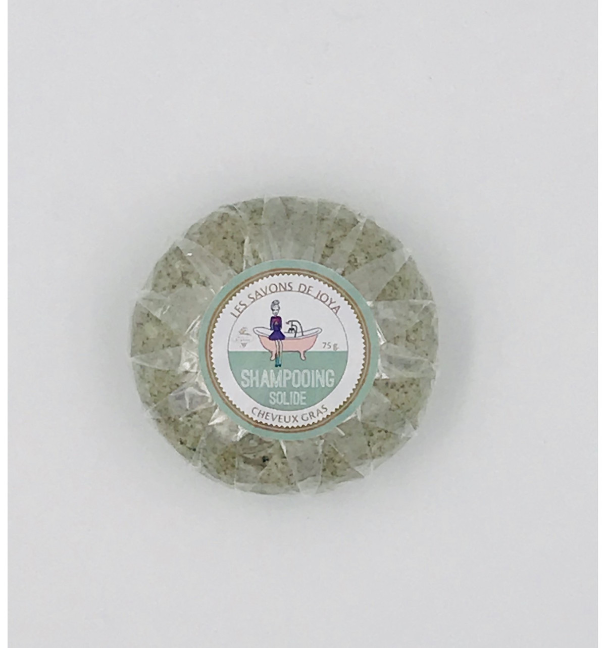 Shampoing solide pour cheveux gras 75 g