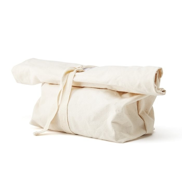 Sac à pain réutilisable en coton naturel
