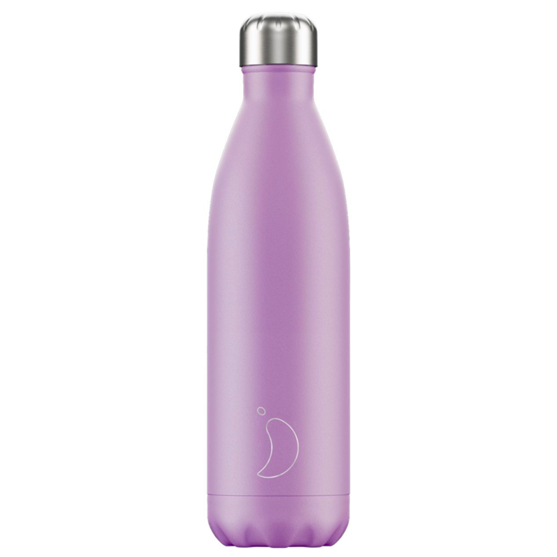 Bouteille pastel violet 750 ml inox, isotherme