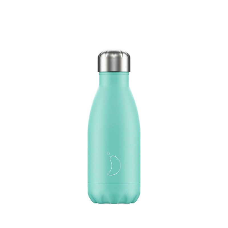 Bouteille vert pastel 260 ml inox, isotherme
