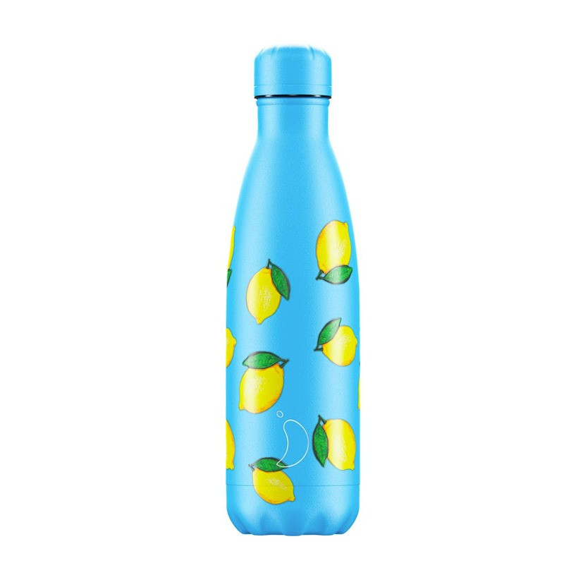 Bouteille Icons Citron 500 ml inox, isotherme