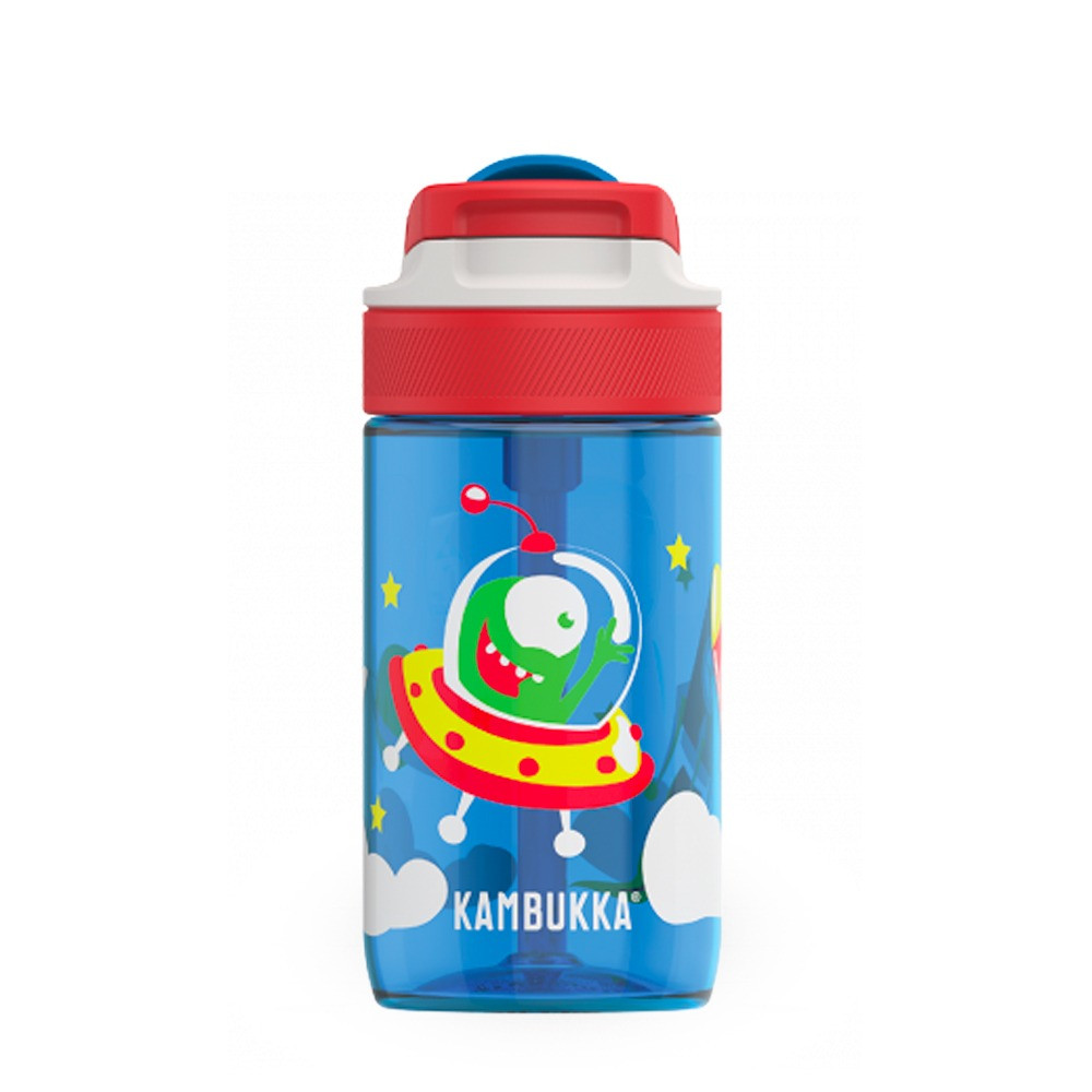 Gourde Lagoon Happy Alien 400 ml tritan sans BPA anti fuite