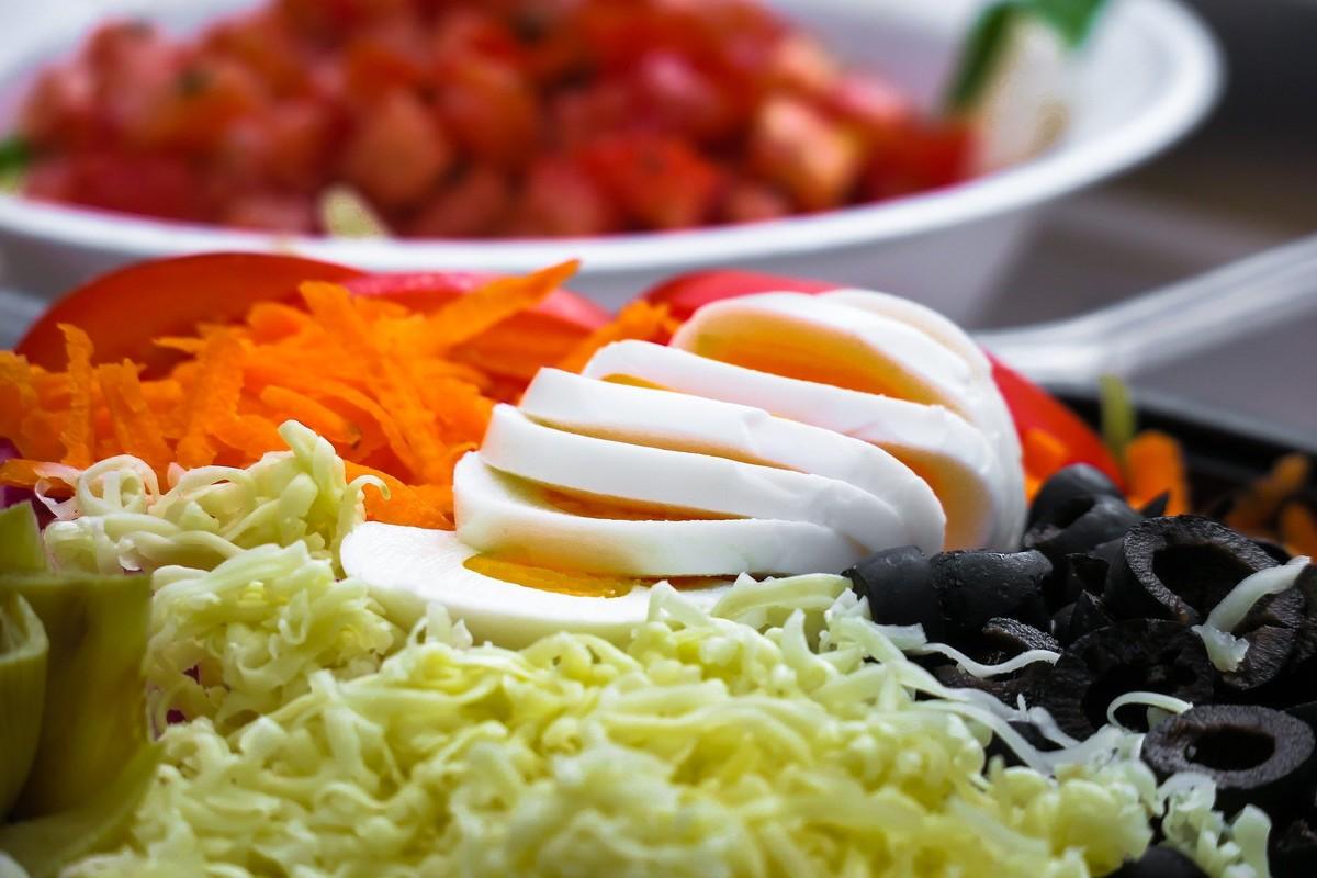 Salade composée sans viande