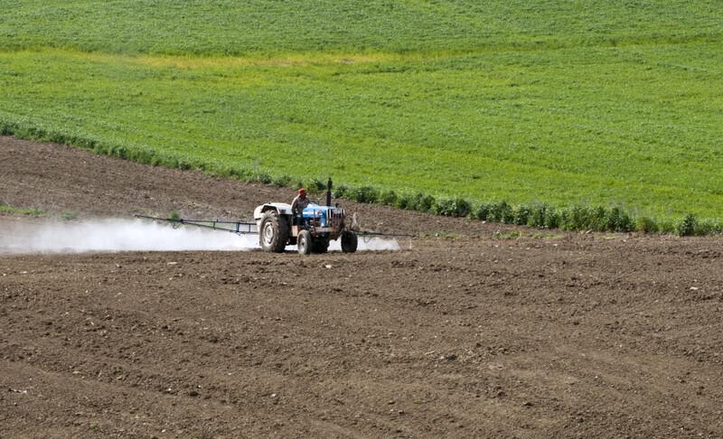 Épandage des pesticides