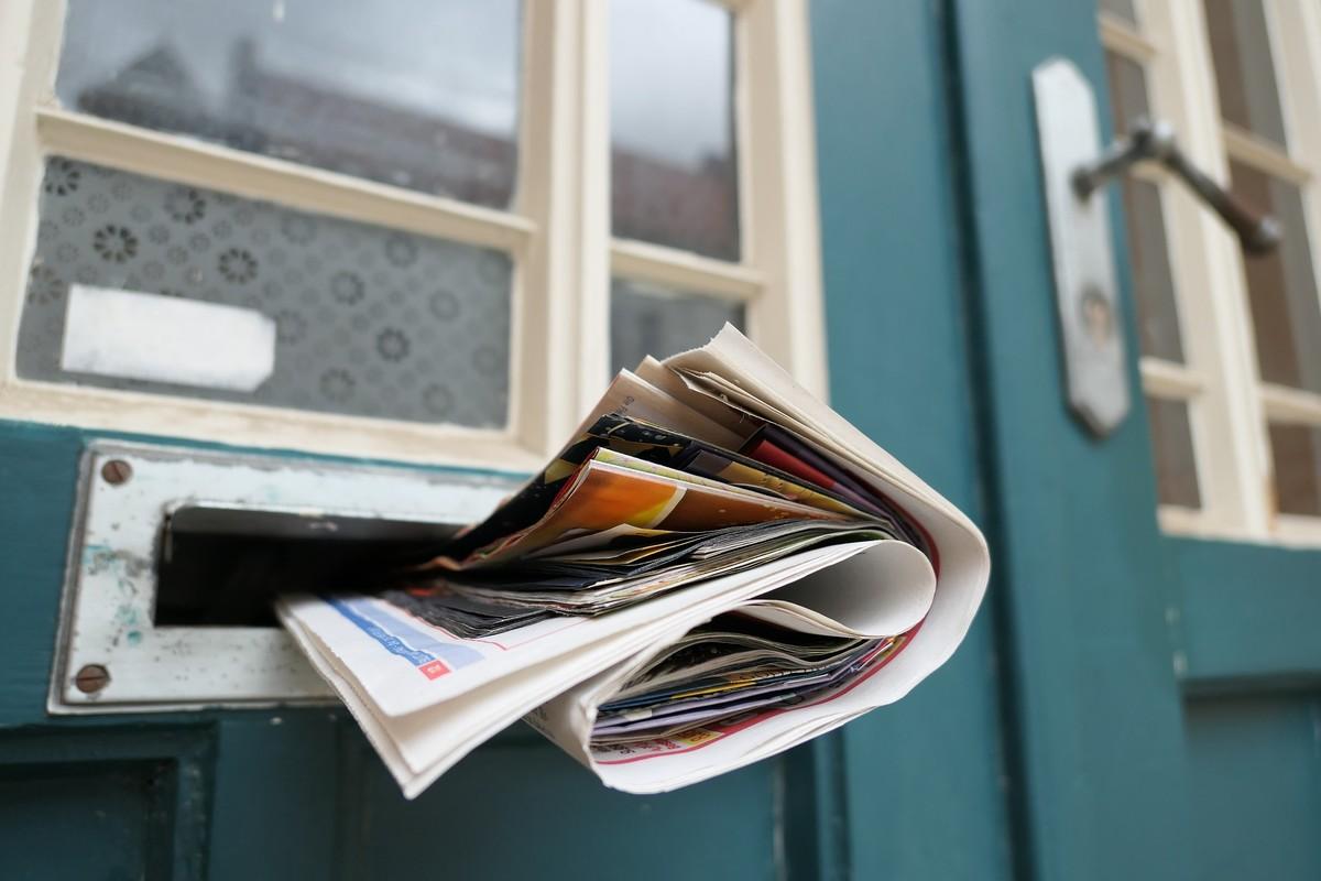 Publicité boîte aux lettres