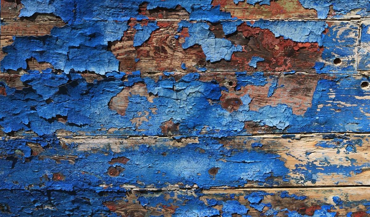 Peinture à la farine pour le bois