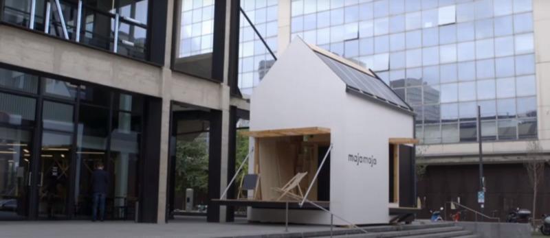 Une habitation autosuffisante en eau et en énergie conçue par Majamaja